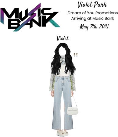 Violet Park | Dream Of You | Arriving at Music Bank
