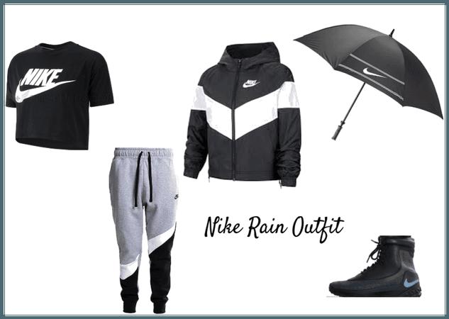 Nike Rain Outfit: April Challange