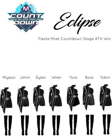 ECLIPSE Fiesta Mnet Countdown Stage 4TH Win