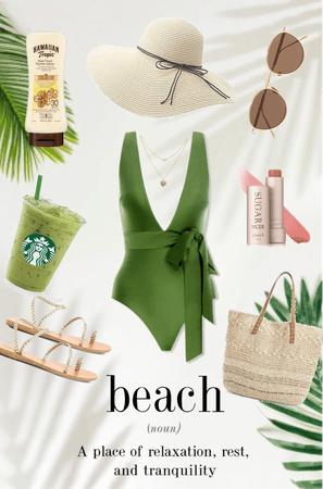 Tropical Beach Day🏝