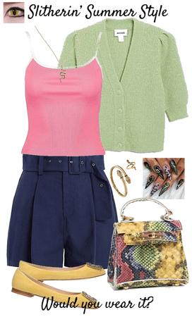 Slitherin' Summer Style