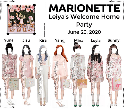 MARIONETTE (마리오네트) Leiya's Welcoming Home Party