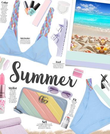 Summertime 🦋 pastel colors