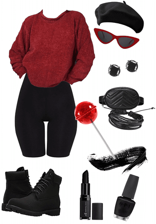 black & Red coll