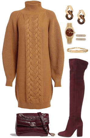 what's fall without sweater wool dress ?