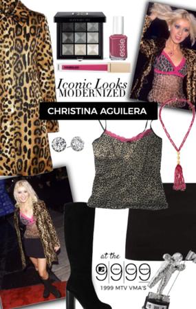 Iconic Looks Modernized: Christina Aguilera in '99