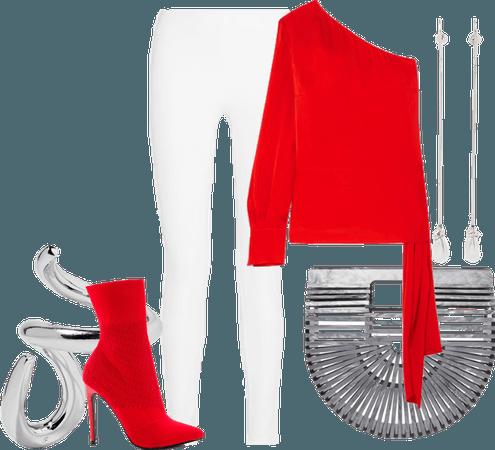 Spring Red & White