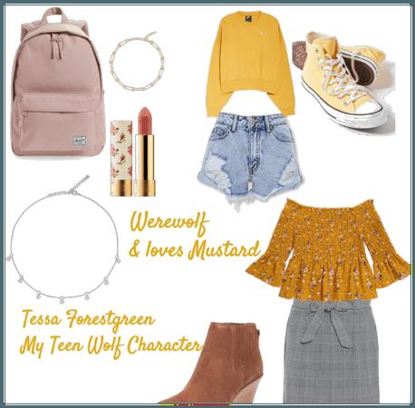 Tessa Forestgreen - Teen Wolf