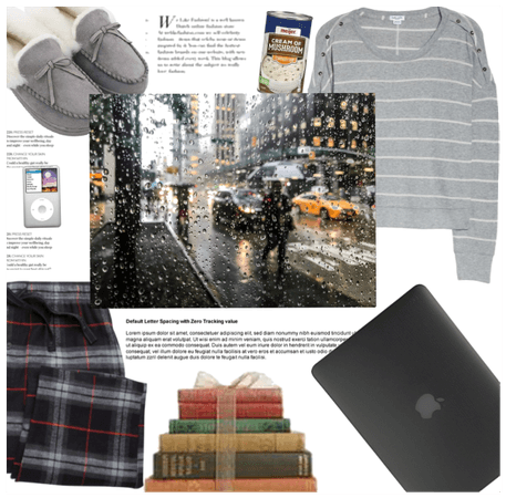 Rain day and quaritine outfit