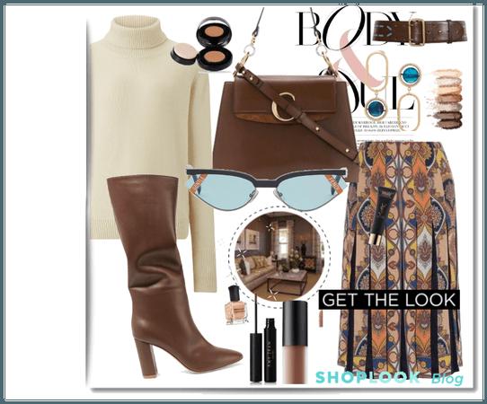 get the look:brown