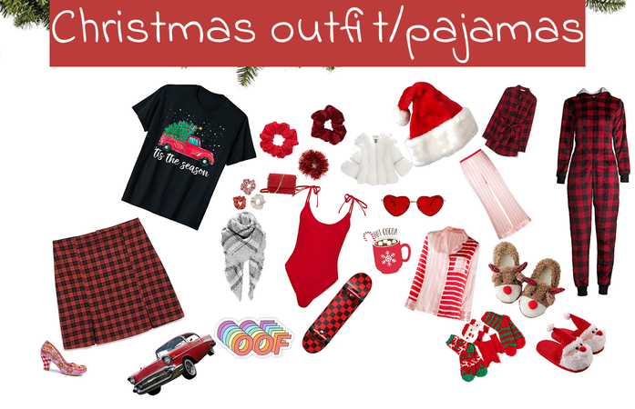 Christmas outfit/pajamas