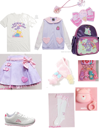 Care Bears inspired outfit