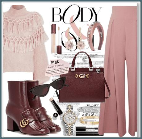 pink&bordeaux