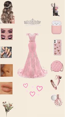 Beautiful pink wedding style💗