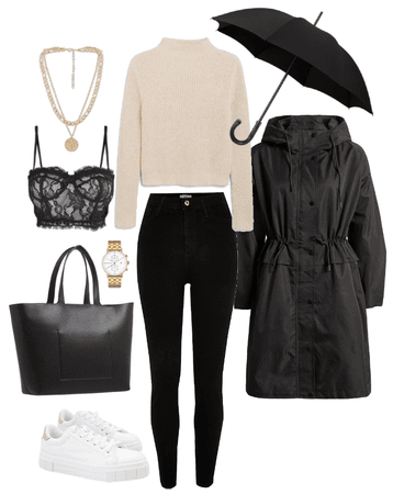Rainy day in Stockholm