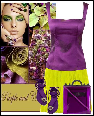 purple and che
