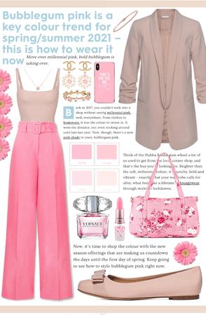 •Bubble Gum Pink & Neutrals•