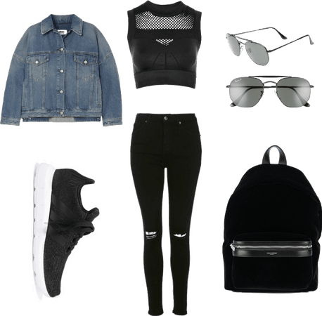 Edgy Cool Outfit