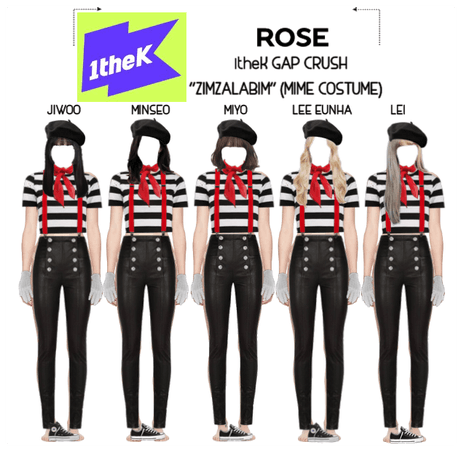 "{RoSE} 1theK Gap Crush ""ZIMZALABIM"""