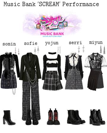 Music Bank SCREAM performance