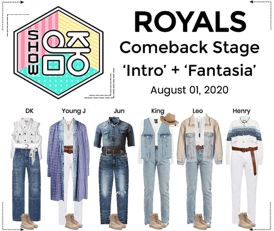 ROYALS [감청색] 'FANTASIA' Comeback Stage | Show! Music Core