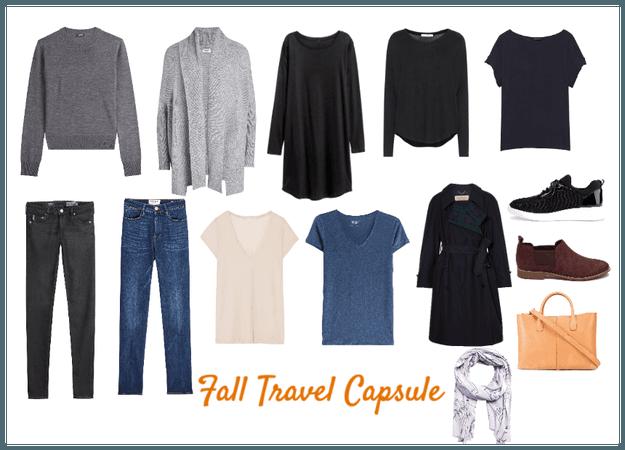 Fall Travel Capsule