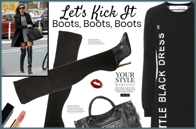 Let's Kick It (Boots)