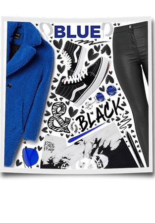 Blue & Black 💙🖤