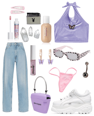 pink/lilac