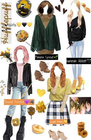 If the Hufflepuff Females were in 2021💛🦡