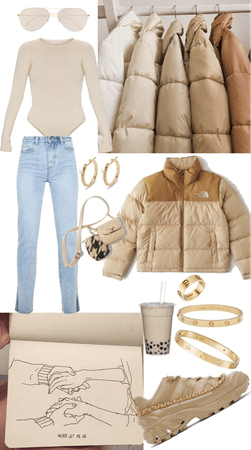 Casual Chic in Beige