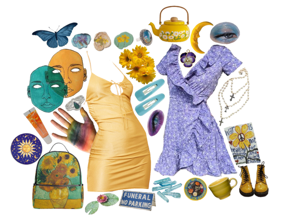 Blue And Yellow Keeps Us Mellow
