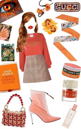 orange 🍊 for days xox