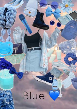 Blue 💋
