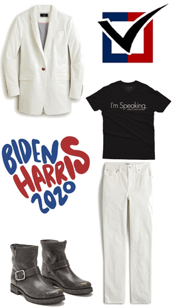 the new white pantsuit