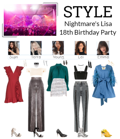 STYLE at Lisa 18th Birthday