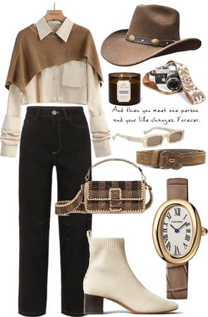 brown style / cowboy