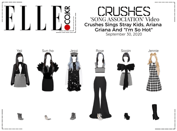 Crushes (호감) Song Association [ELLE]