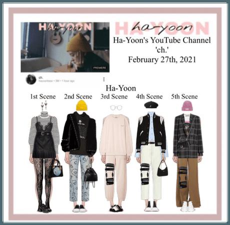/HA-YOON/ 'ch.' YouTube Channel