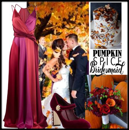 Fall Bridesmaid