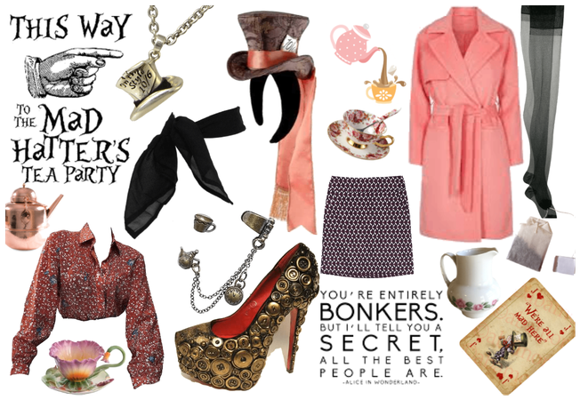 Pink Mad Hatter Day 2019