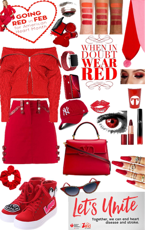 wear red ♥️