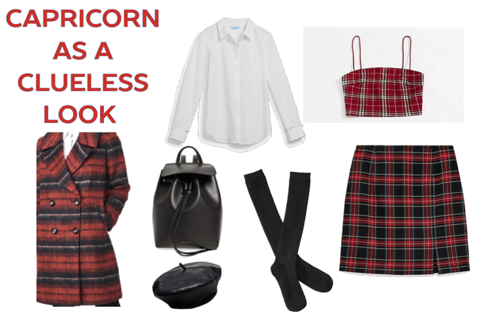 Capricorn as a clueless outfit