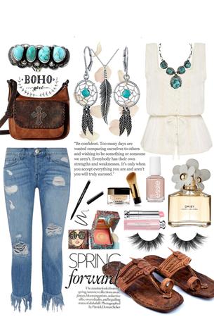 •Boho & Leather•