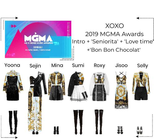 XOXO 2019 MGAM Awards Performance