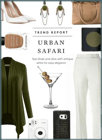 holiday party/urban safari style