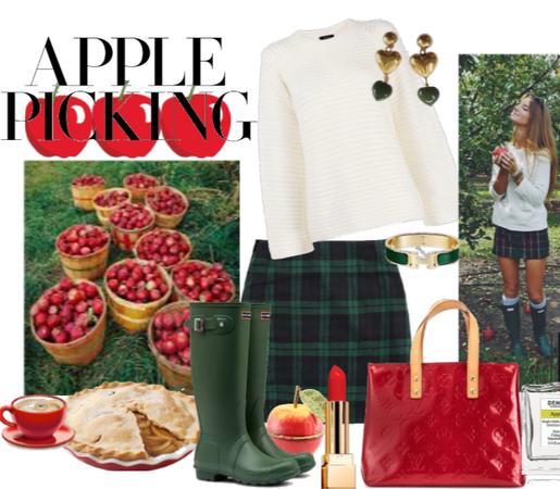 Fall Apple Picking