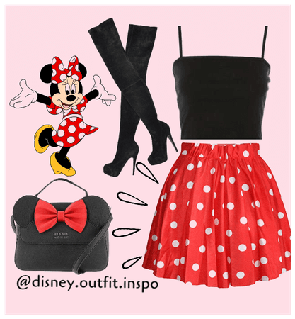Disney Outfit Inspo Minnie Mouse