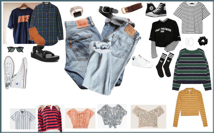 boyfriend levis outfit