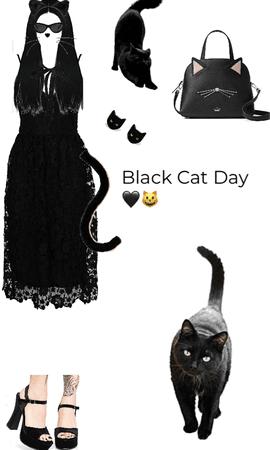 Black Cat Dress 👗🖤🐱